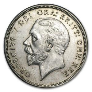 George V silver obverse