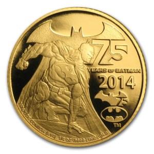 Niue Batman Gold Reverse