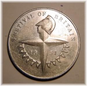 Fest of Britain Medal Obverse