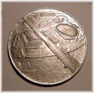Fest of Britain Medal Reverse