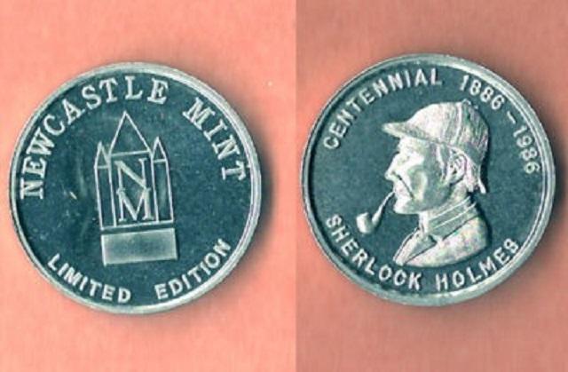 The Sherlock Holmes Centennial Art Medal Collection: An Update – 4 Medals!