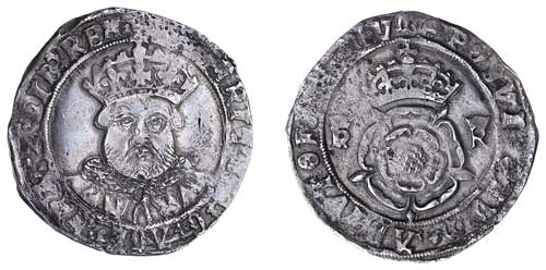 Henry VIII Shilling
