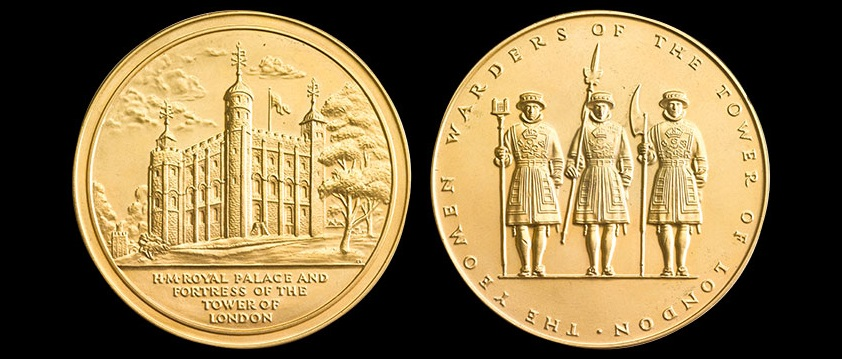 Tower of London Medal