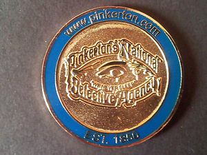 A Challenge Coin for the Pinkertons