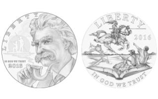 Twain Silver Dollar Designs