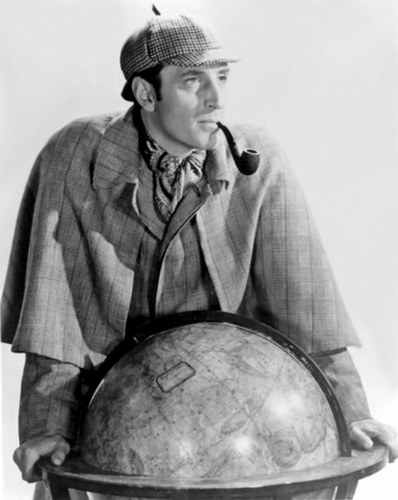 Basil Rathbone Check From The William Morris Agency