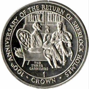 Gibraltar's 1994 Three Garridebs Crowns