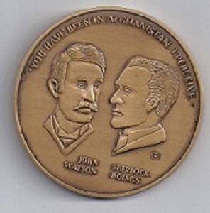 The 1980 Sherlockian Enterprises Medal