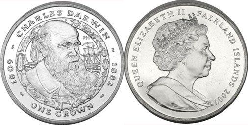 Falklands Darwin Crown