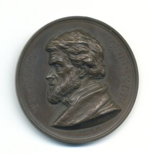 Thomas Carlyle Medal Obv