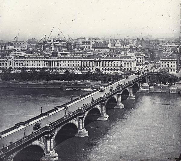 Waterloo Bridge circa 1910