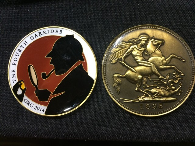 TFG Issues 2015 Medal, Lapel Pin