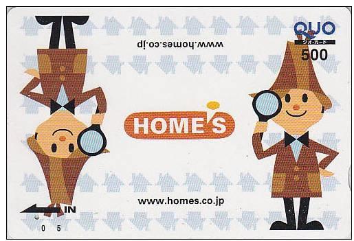 Japan Phone Card - Homes