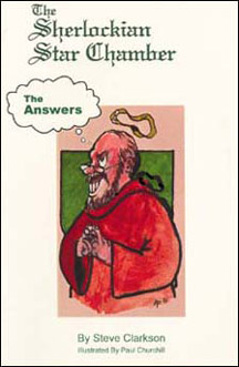 The Sherlockian Star Chamber: The Answers – The Three Garridebs