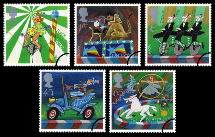 2002_Circus Stamps
