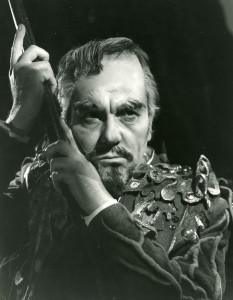 Ralph Richardson as Prospero