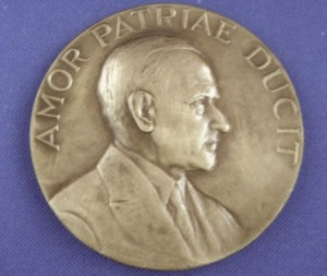 ULP Coolidge Medal OBV