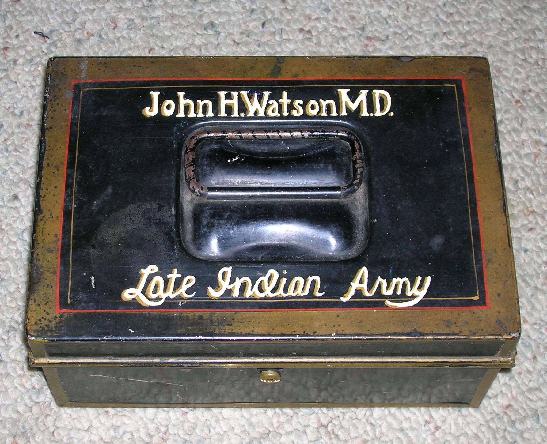 From Watson's Tin Box: The Creeping Man