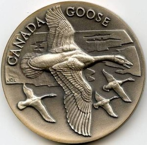 Longines Goose Medal OBV