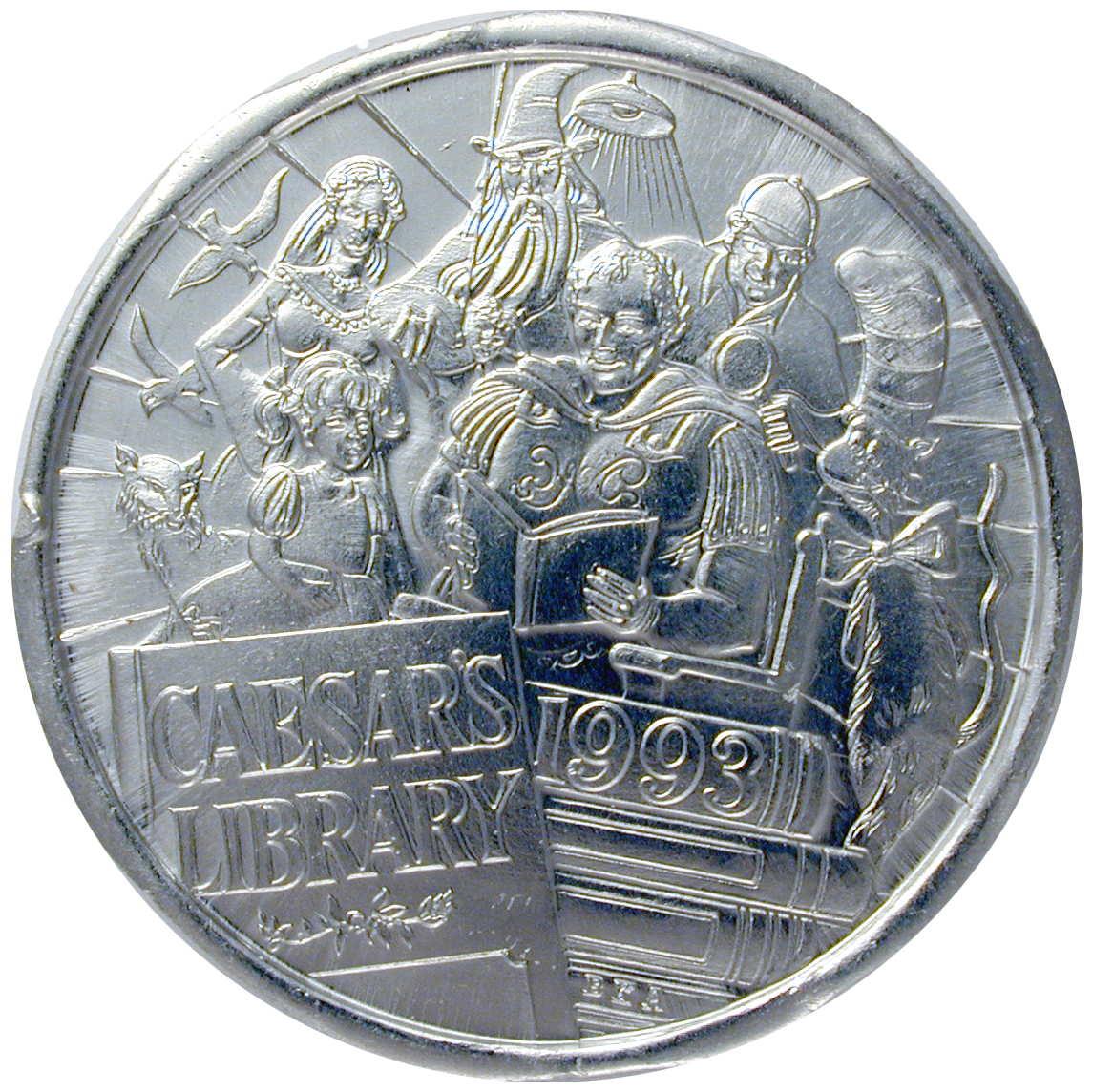 1993 Mardi Gras Doubloons of The Krewe of Caesar