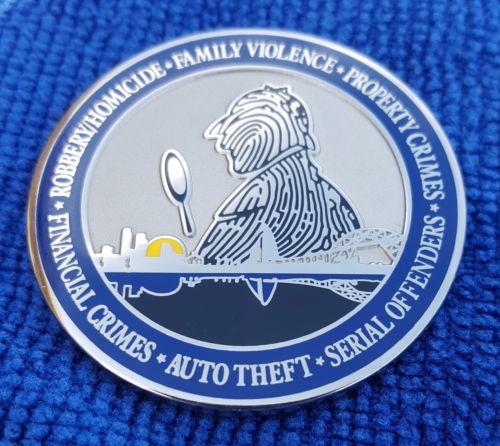 Corpus Christi Police Issue Challenge Coin With Sherlockian Design