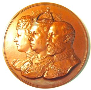 Tower Bridge Opening Medal OBV