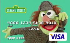 Sherlock Hemlock Featured on Two Prepaid Debit Cards