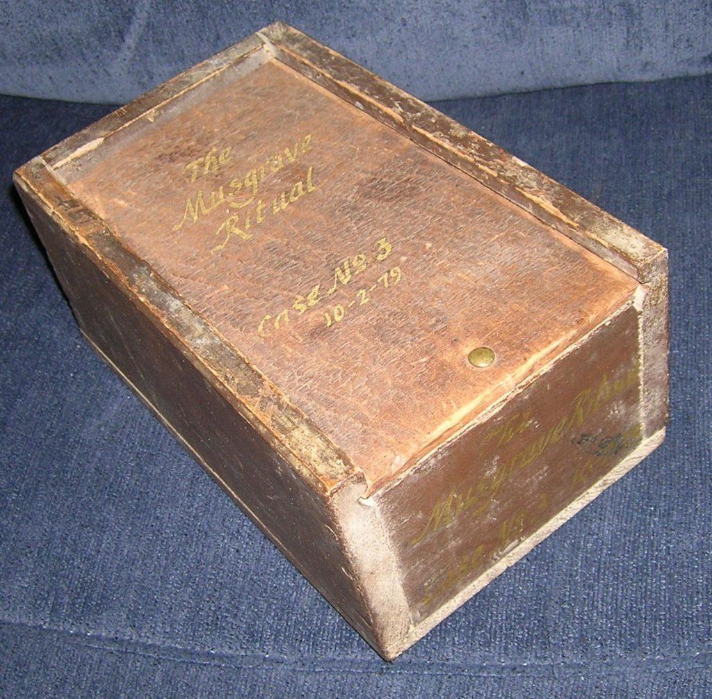 WoodenBox w-Slding Lid