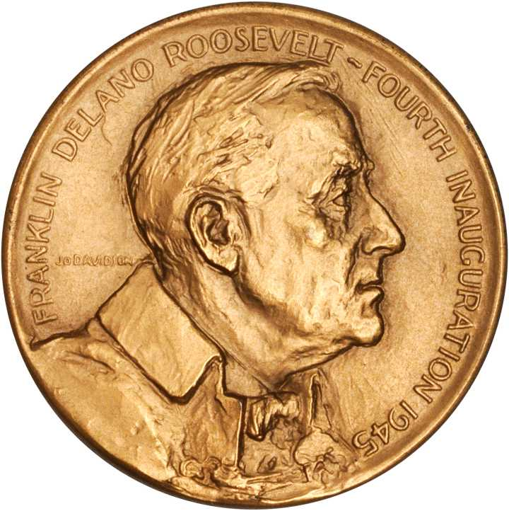 The Presidential Inaugural Medals of BSI Member Franklin D. Roosevelt