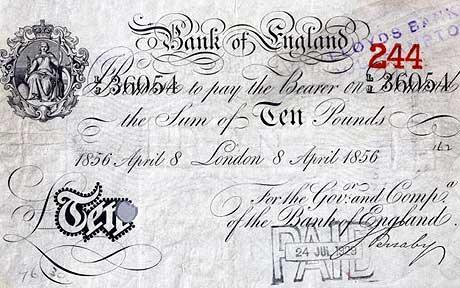 Bank of England 10 Bank-Note