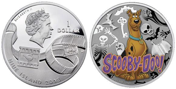 2013 Niue $1 Scooby Doo