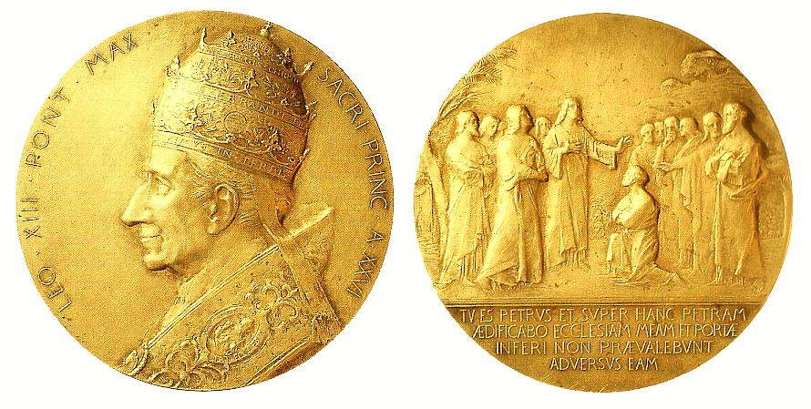 Pope Leo XIII 1903 Medal