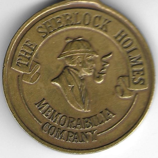 Update on the Sherlock Holmes Memorabilia Company Medal