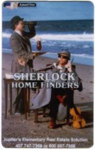 Sherlock Home Finders Phone Card