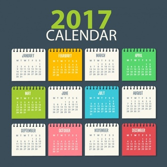 2017 Monthly Schedule for Story Discussions