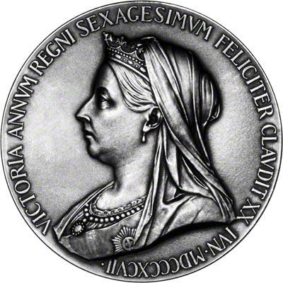 Queen Victoria's Diamond Jubilee Medal