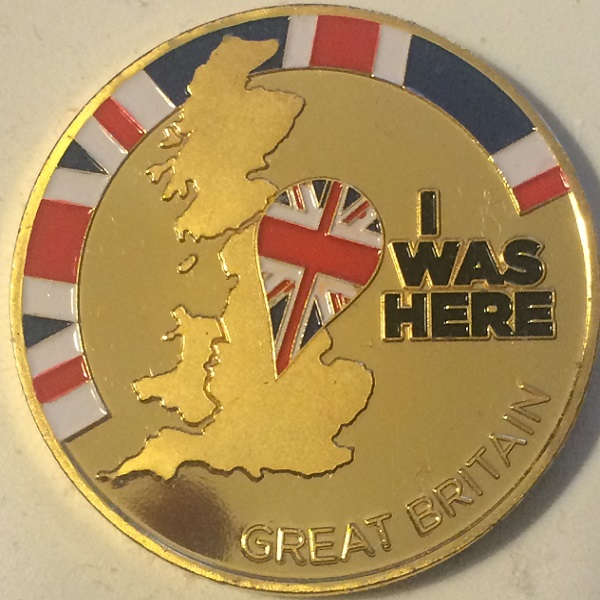 """The Sherlock Holmes """"I Was Here"""" Medal"""