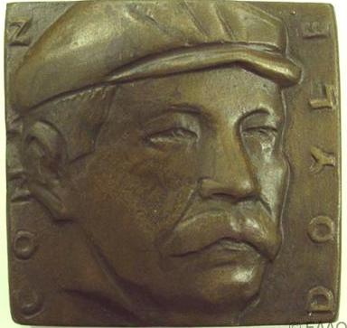 Alex Shagin's 1991 Portrait Medal of Arthur Conan Doyle