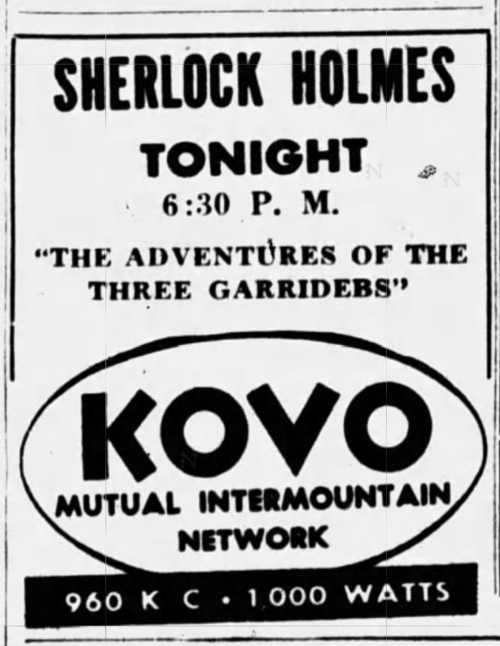 Tonight on the Mutual Radio Network! (May 9, 1949)