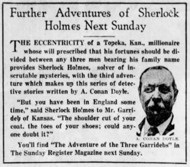 Next Week in the Des Moines Register (March 15, 1923)
