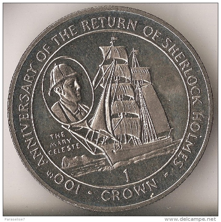 The 1994 Gibraltar Mary Celeste One Crown Coin