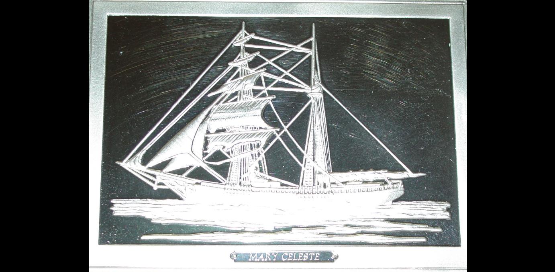 Franklin Mint Ingots Feature the Mary Celeste