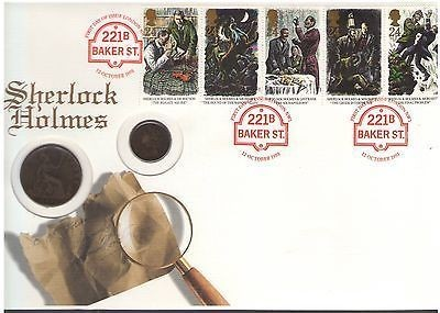 The 1993 Sherlock Holmes Stamps First Day Cover