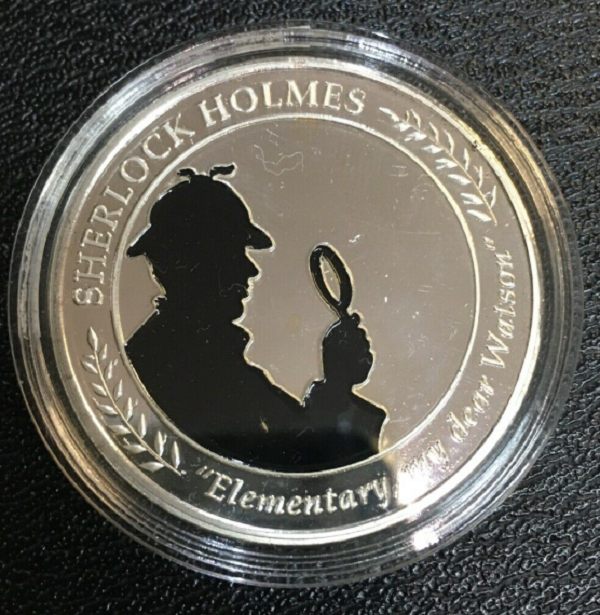 The Elementary, My Dear Watson Medal