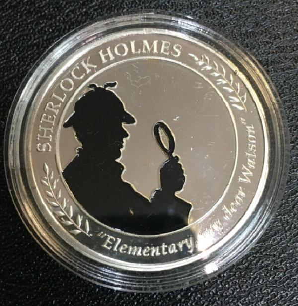 The Elementary, My Dear Watson Medal