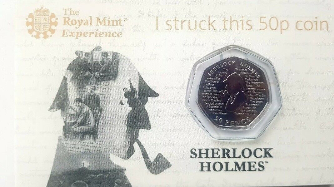 I Struck This 50 Pence Coin