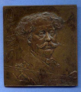 Two Medals of Sarasate