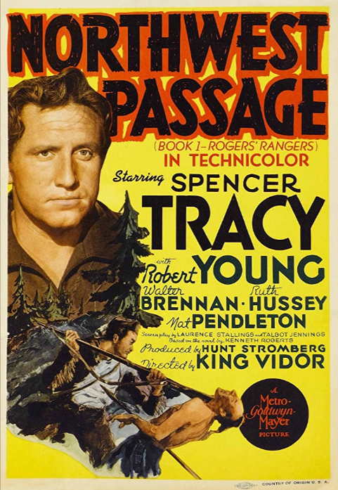 Louis Hector's Only Film Role! – Northwest Passage (1940)