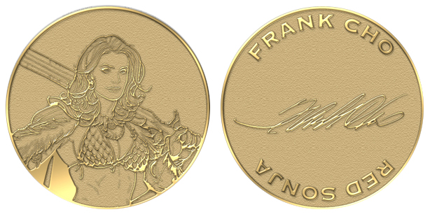 BSI Member Frank Cho Issued Challenge Coin