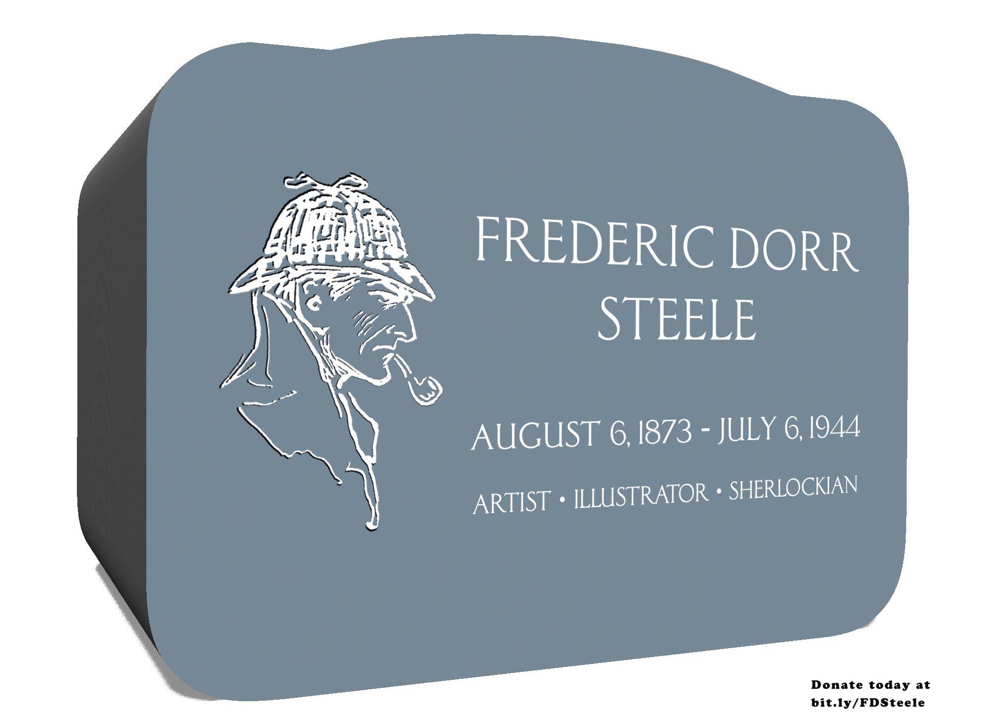 Help Erect The Frederic Dorr Steele Memorial